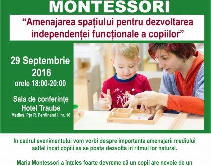 Amenajarea spațiului pentru asigurarea independentei funcționale a copiilor