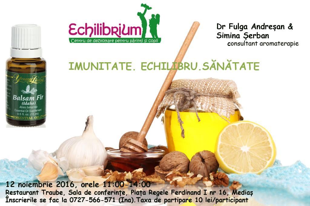 """Seminar Aromaterapie """" Imunitate. Echilibru. Sanatate"""""""